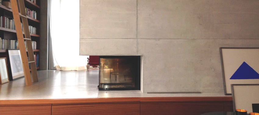 Fireplaces without flue and without smoke