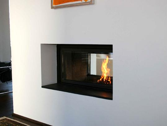 Kamin Tunnel bespoken contemporary fireplace